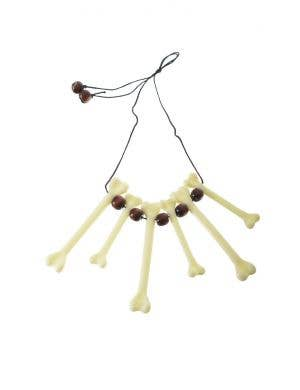 Cave Woman Bone Costume Necklace