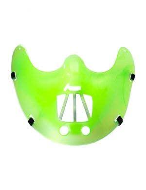 Green Cannibal Restraint Halloween Mask
