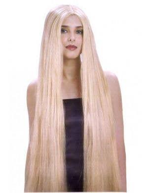 Lady Godiva Extra Long Women's Blonde Wig