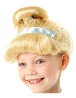 Ella Girl's Blonde Princess Costume Wig
