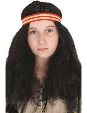 Kids American Indian Costume Wig
