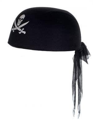 Skull and Cross Bones Adult's Pirate Cap