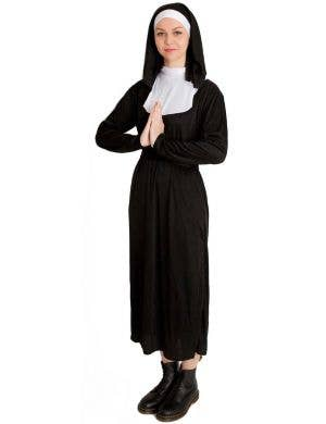 Women's Classic Nun Fancy Dress Costume