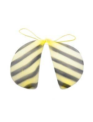Bumble Bee Black and Yellow Costume Wings