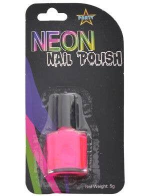 Party Neon Pink Nail Polish