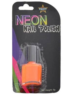 Party Neon Orange Nail Polish