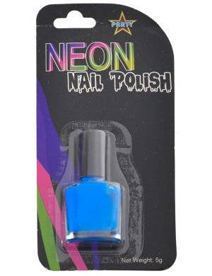 Party Neon Blue Nail Polish