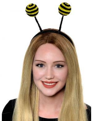 Bumble Bee Antenna on Headband Costume Accessory