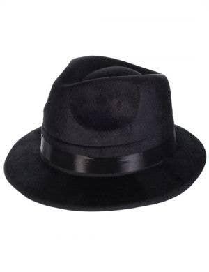 1920's Gangster Men's Hat Black Fedora