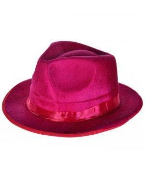 Roaring 20's Gangster Pink Fedora Hat