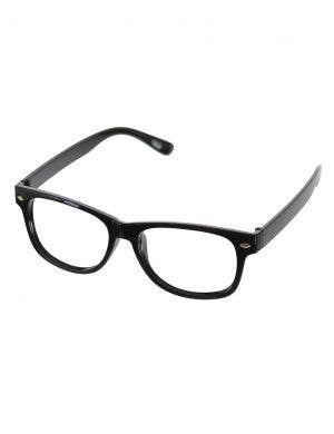 Groovy Secret Agent Costume Glasses in Black