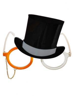 Mr Money Monopoly Novelty Costume Glasses