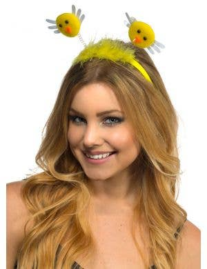 Easter Yellow Baby Chicken Costume Headband