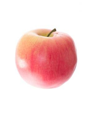 Realistic Novelty Plastic Fake Red Apple Fruit Accessory Prop