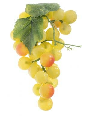 Bunch Of Fake Novelty Yellow Grapes Costume Accessory