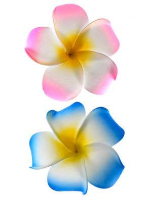 Frangipani Hawaiian Hair Clips - Pack of 2