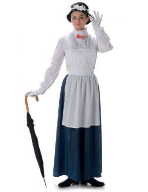 Women's Mary Poppins Fancy Dress Costume Main Image