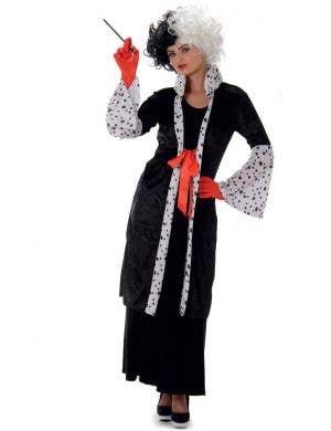 Cruella De Vil Women's Fancy Dress Costume Main Image