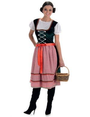 Women's Sound of Music Fancy Dress Costume Main Image