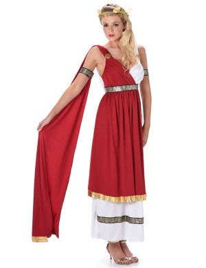 Women's Roman Empress Fancy Dress Costume Main Image