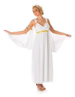 Greek Goddess Women's Fancy Dress Costume Main Image