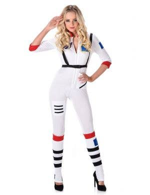 Women's Sexy NASA Astronaut Fancy Dress Costme