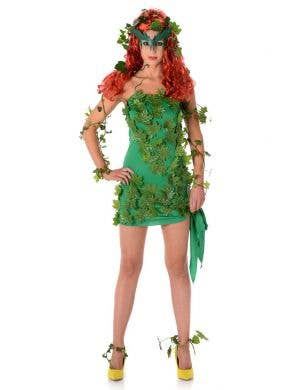 Sexy Poison Ivy Fancy Dress Costume