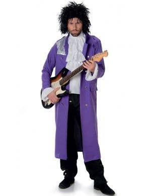 Men's Prince Pop Star Purple Costume Main Image