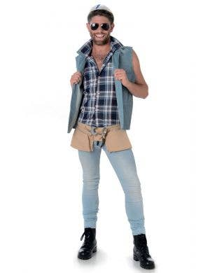 Construction Worker Men's Fancy Dress Costume Main Image