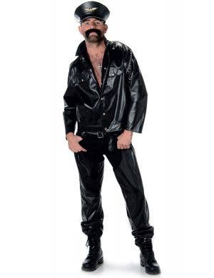 Men's Village People Biker Costume Main Image