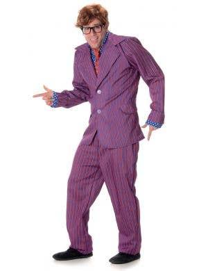 Austin Powers Men's Fancy Dress Costume Main Image