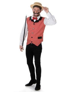 Men's Barber Shop Singer Costume Main Image