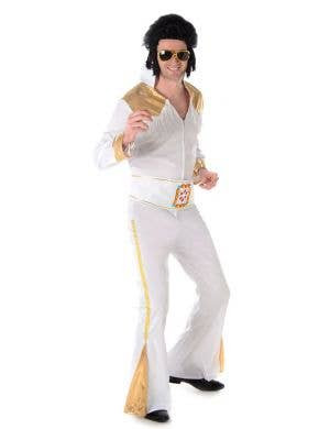 Elvis Presley Men's Fancy Dress Costume Main Image