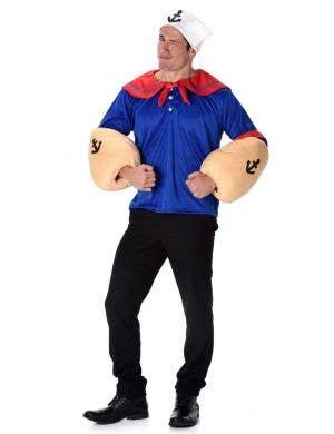 Popeye Men's Fancy Dress Costume