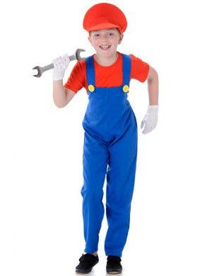 Red Boy's Super Mario Costume Main Image
