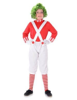 Oompa Loompa Boys Fancy Dress Costume Main Image