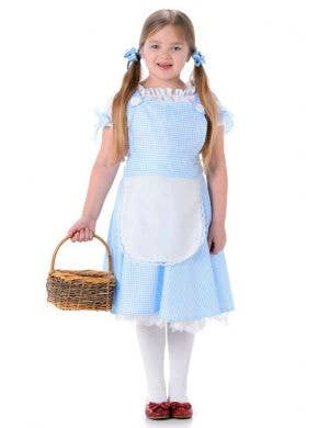 Girls Wizard Of Oz Dorothy Costume Main Image