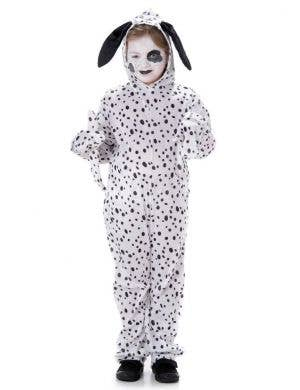 Kids Cute Dalmatian Onesie Book Week Costume Main Image