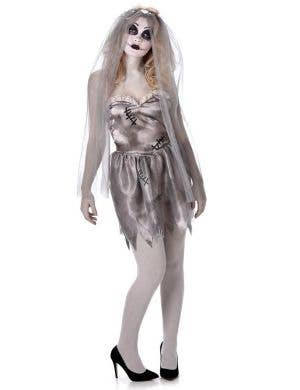 Dead Ghost Bride Women's Halloween Fancy Dress Costume
