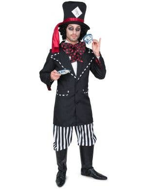 Black Hatter Men's Halloween Fancy Dress Costume