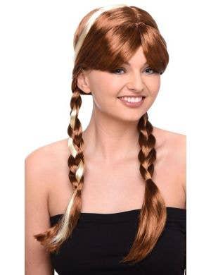 Fairytale Princess Anna Frozen Women's Costume Wig