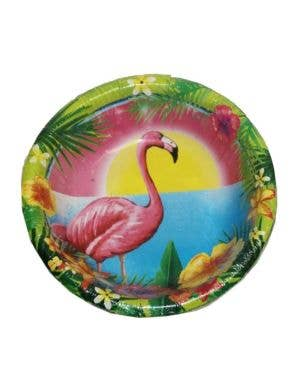 Hawaiian Themed Flamingo Party Bowls - 10 Pack