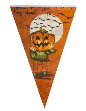 Pumpkin Happy Halloween Bunting Decoration