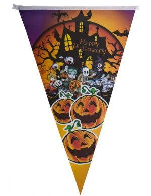 Laughing Pumpkins Halloween Bunting Decoration Main Image