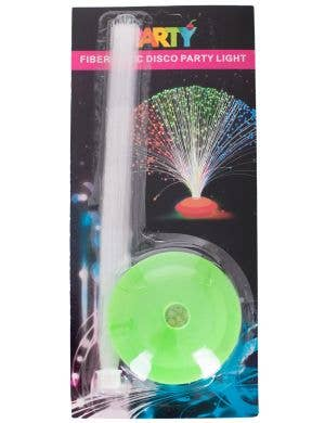 Green Base Party Disco Fibre Optic Light Decoration