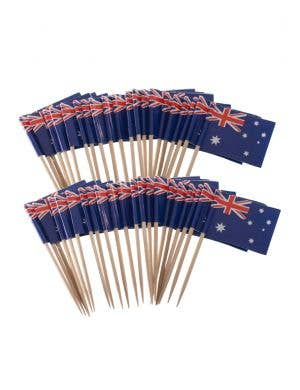 Novelty Australian Flag Aussie Toothpicks