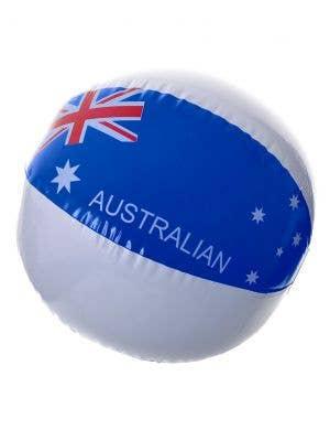 38cm Inflatable Aussie Flag Australia Day Beach Ball