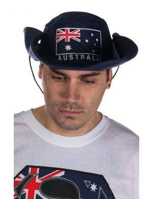 Australian Flag Wide Brim Australia Day Hat