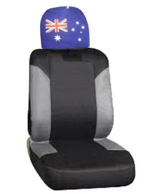 Australian Flag Car Head Rest Cover Aussie Accessory