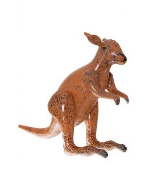 Brown Australian Themed 60cm Inflatable Blow Up Kangaroo Animal Decoration Prop